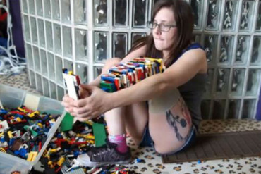Amputee Christina Stephens built herself a leg out of Lego
