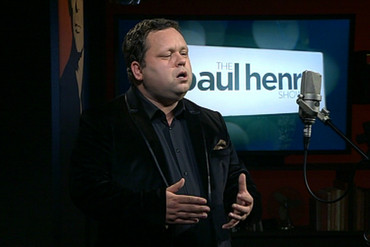 Paul Potts on the Paul Henry Show