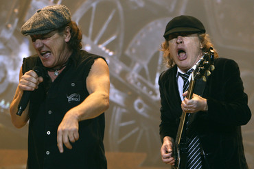 AC/DC performing live (Reuters)