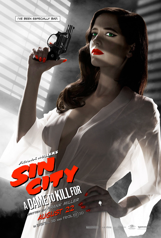Eva Green sexy Sin City poster