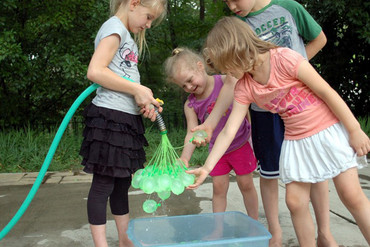 Taking water balloon fights to the next level (Kickstarter)