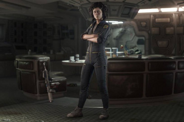 Sigourney Weaver in Alien: Isolation