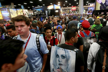 The crowd at San Diego Comic-Con 2014 (Reuters)