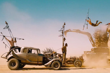 A look at the action in Mad Max: Fury Road