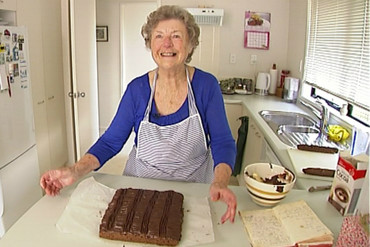 You may remember Connie and the decadent slice she made for Gate when he returned home from the 2012 London Olympics