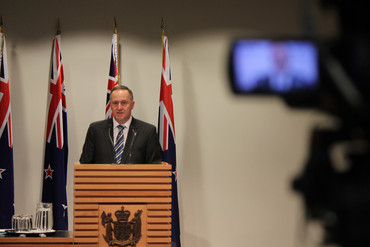 John Key (Photo: Simon Wong)