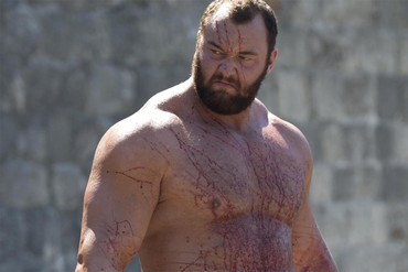 Hafthor as Gregor 'The Mountain' Clegane in Game of Thrones
