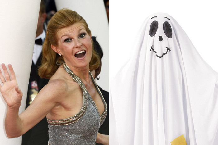 Connie Britton (AAP); a common ghost