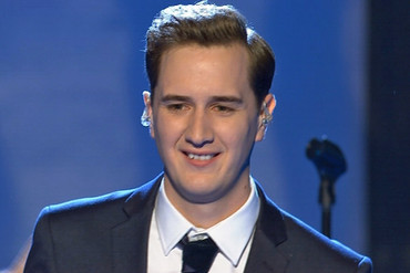 Joe Irvine on last night's X Factor NZ