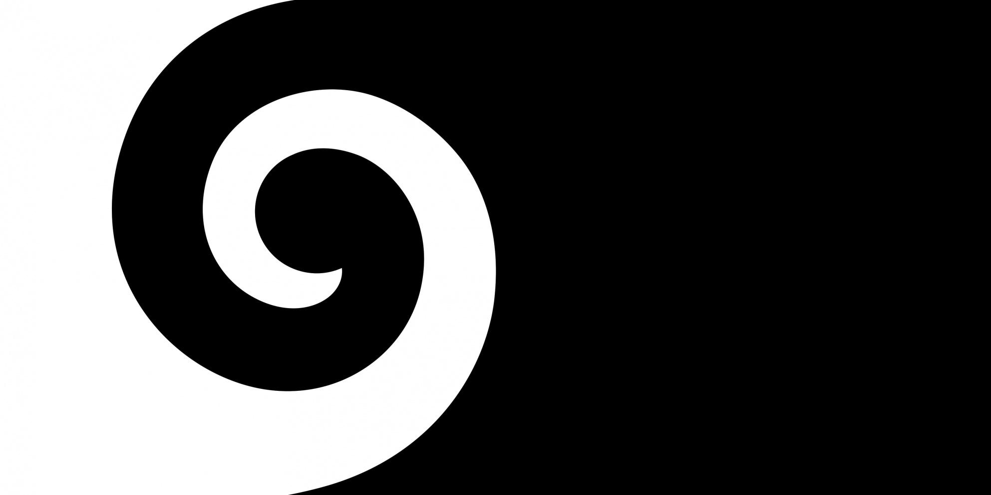 Image of the Koru flag.