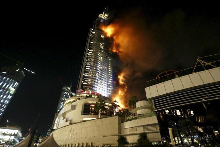 Dubai's Emaar Properties Hires Contractor to Restore Fire-Ravaged Hotel